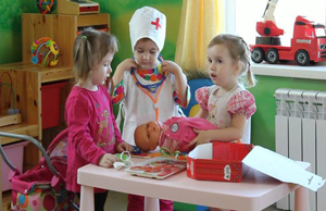 Формирование представлений о здоровом образе жизни у старших дошкольников в игровой деятельности